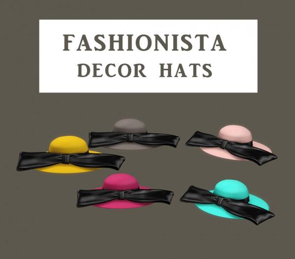 Leo 4 Sims: Fashion Hats