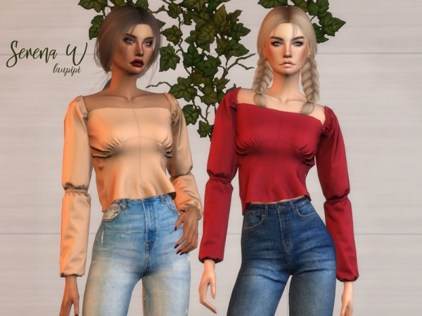 The Sims Resource: Serena W. top by laupipi