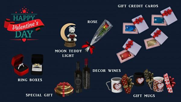 Leo 4 Sims: Happy Valentines Day