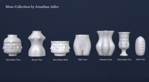 Meinkatz Creations: Muse Collection by Jonathan Adler