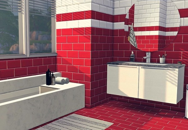 Blooming Rosy: Metro Tiles Collections