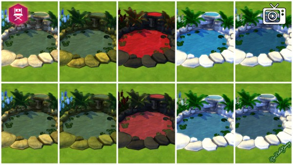 Mod The Sims: Denizen Pond   Revamped by Bakie