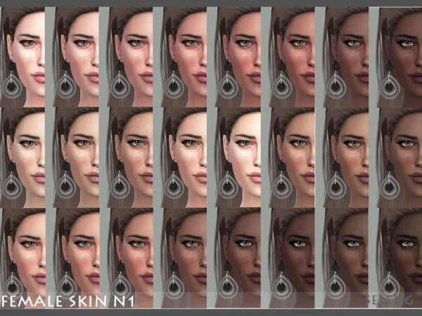 The Sims Resource: Female Skin N1 by Seleng