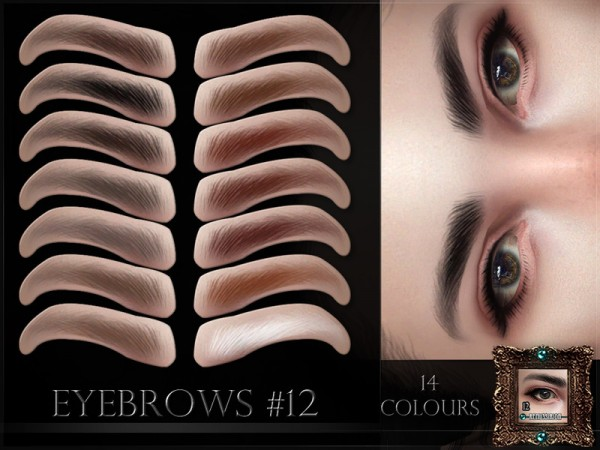 The Sims Resource: Eyebrows 12 by RemusSirion