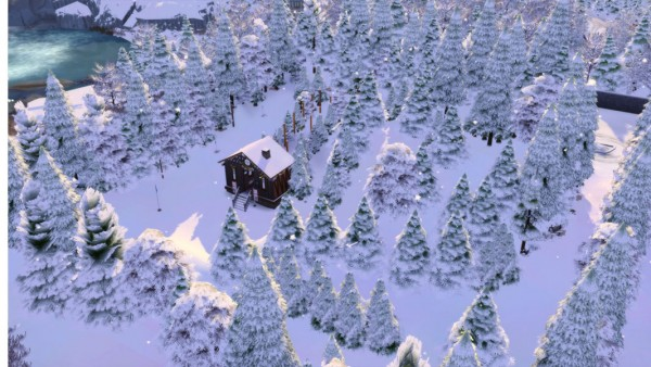 Mod The Sims: Winter Vacancy Domaine of Mont Rope Slopes by tsukasa31