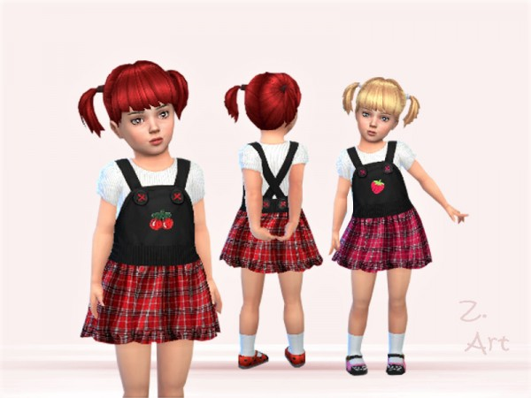 The Sims Resource: BabeZ. 56 outfit by Zuckerschnute20