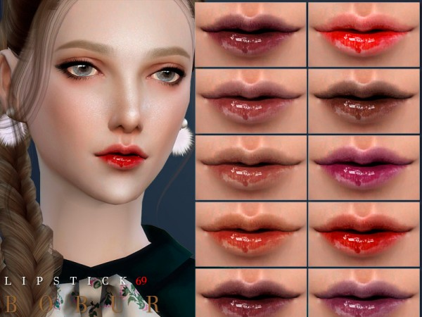 The Sims Resource: Lipstick 69 by Bobur3