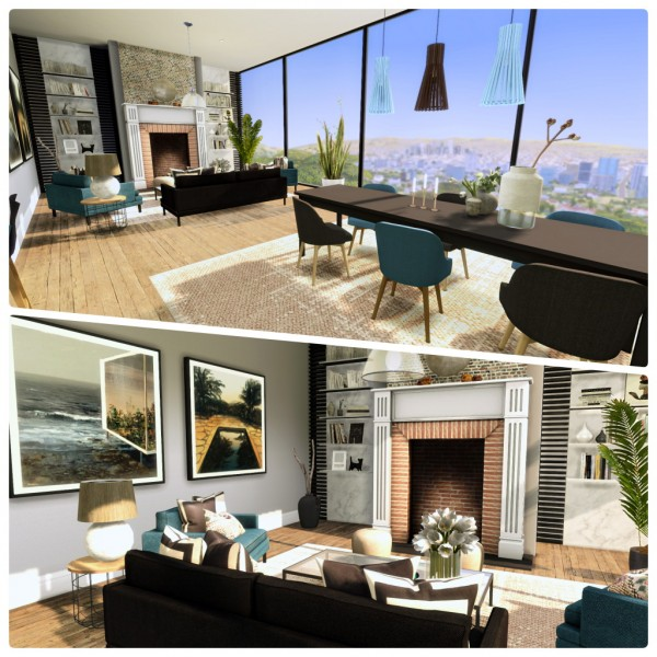 Liney Sims: Chic Modern Apartment