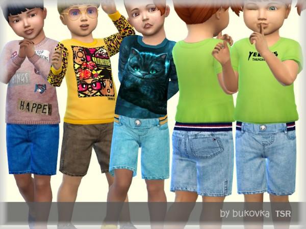 The Sims Resource: Short Denim by bukovka