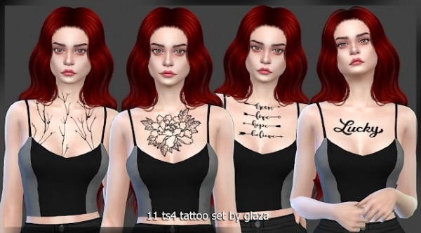 All by Glaza: Tattoo 11
