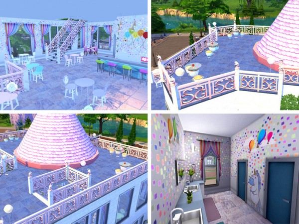 The Sims Resource: Sweet Tooth Restaurant by neinahpets