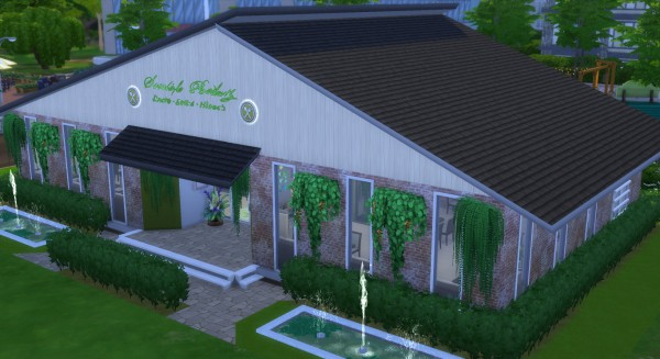 Mod The Sims: Green World Restaurant by Wild Lucy