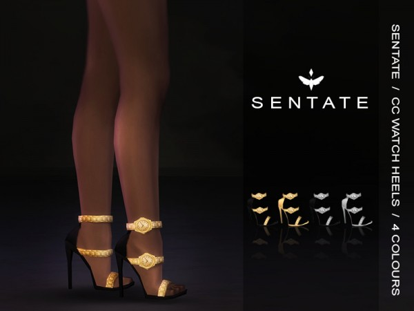 The Sims Resource: CC Watch Heels by Sentate