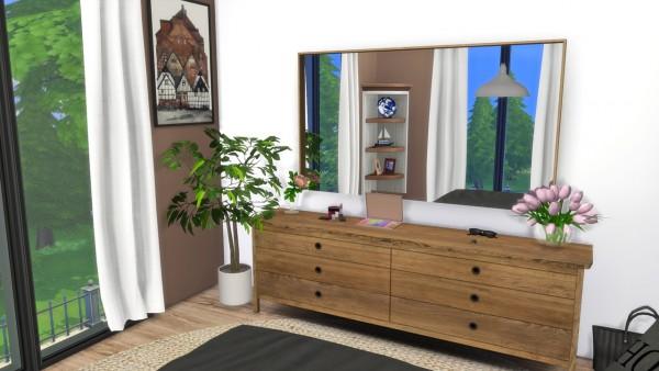 Models Sims 4: Millbrook bedroom