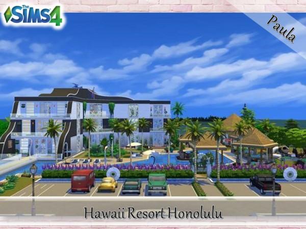 The Sims Resource: Hawaii Resort Honolulu by PaulaBATS