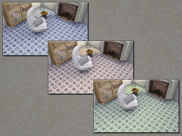 The Sims Resource: Stone Collection Ceramic Vintage 2 by matomibotaki