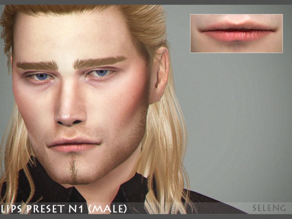 The Sims Resource: Lips Preset N1 by Seleng