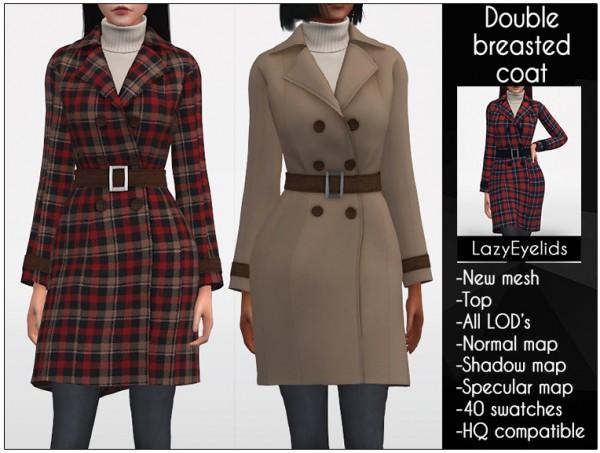 Lazyeyelids: Doble Breasted Coat
