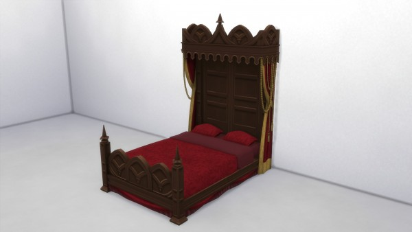 Mod The Sims: Vampire Bed Remake by TheJim07
