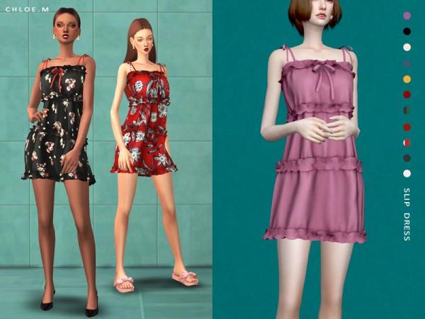 The Sims Resource: Slip Dress by ChloeM