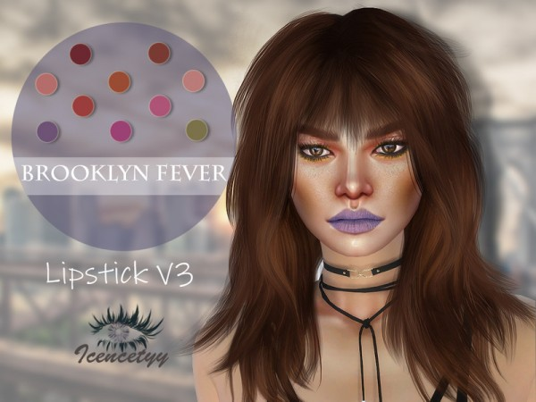 The Sims Resource: Lipstick V3 by icencetyy