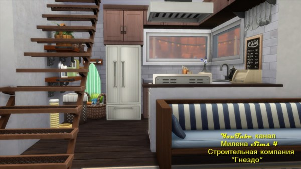 Sims 3 by Mulena: House Container no CC