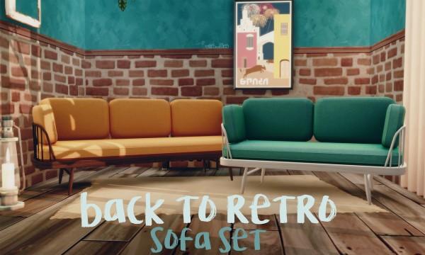 Picture Amoebae: Back to retro sofa
