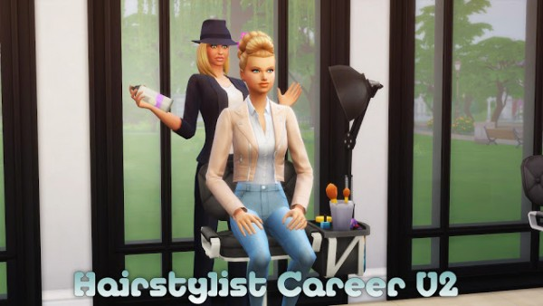 MSQ Sims: Hairstylist Career V2