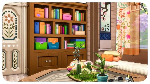 Luna Sims: Colorful Boho Livingroom