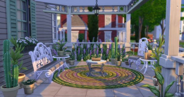 Mod The Sims: Matching Recolors for 9 Plants by simsi45