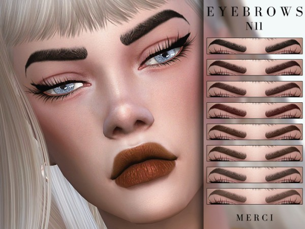 The Sims Resource: Eyebrows N11 by Merci