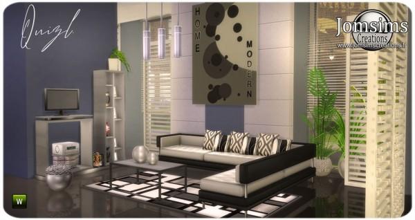 Jom Sims Creations: Quizl Livingroom