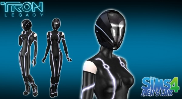 Luniversims: Tron Legacy   Combination and helmet by  Xenos Artefact