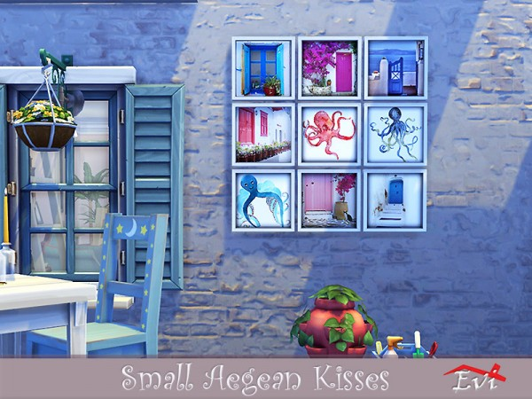 The Sims Resource: Small Aegean Kisses by evi
