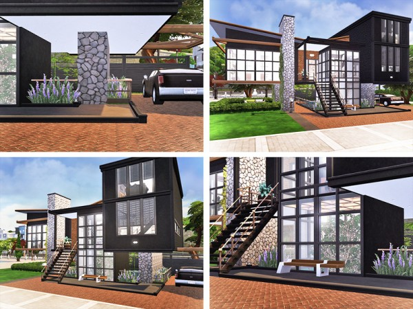 The Sims Resource: Roisin House by Rirann