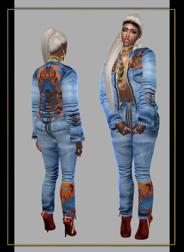 Fusion Style: Denim outfit