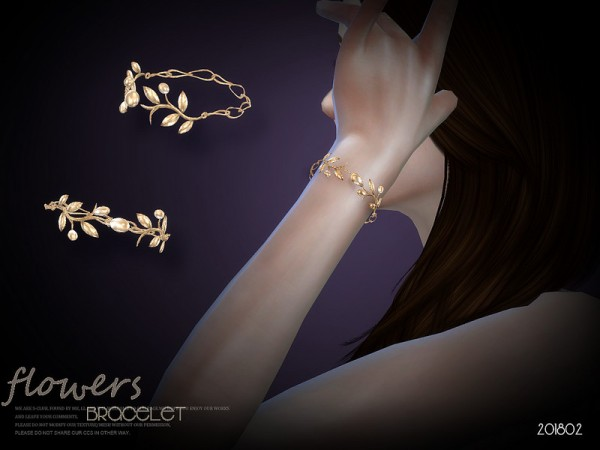 The Sims Resource: Bracelet 201902 by S Club