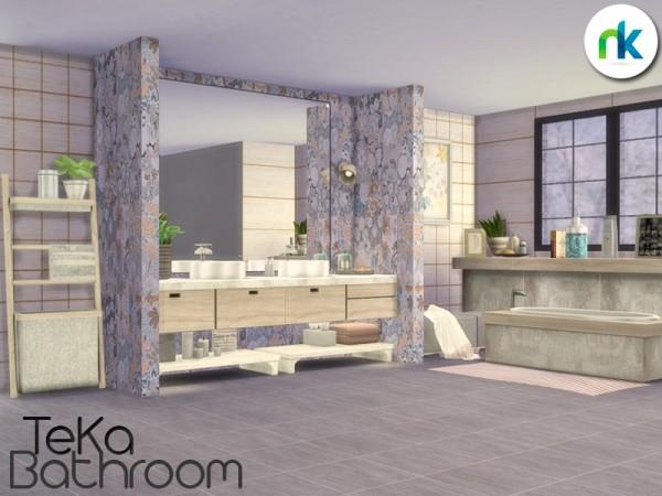 The Sims Resource: TeKa Bathroom by nikadema