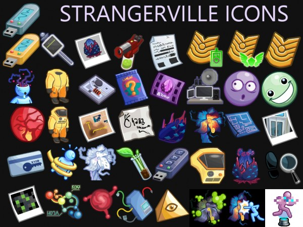 Mod The Sims: Stranger Ville Icons by Simmiller