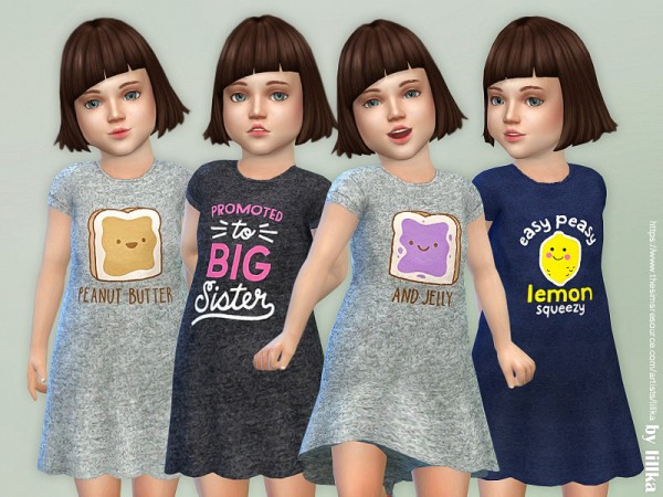 The Sims Resource: Toddler Dresses Collection P86 by lillka