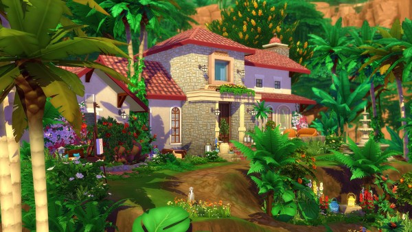 Studio Sims Creation: Tosca House