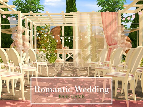 The Sims Resource: Romantic Wedding by Pralinesims