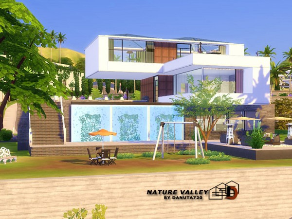 The Sims Resource: Nature Valley House by Danuta720