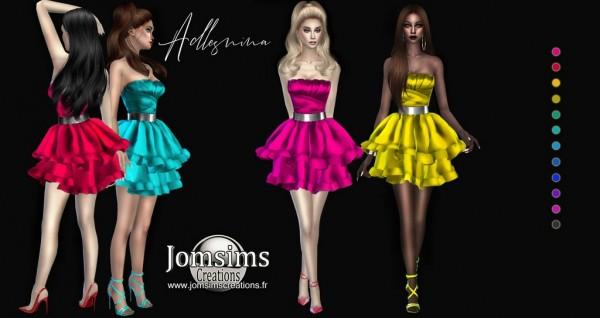Jom Sims Creations: Adlesnina dress