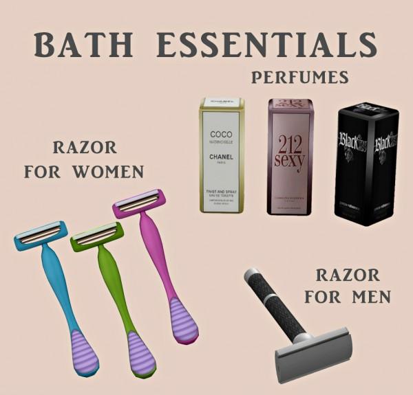 Leo 4 Sims: Bath Essentials