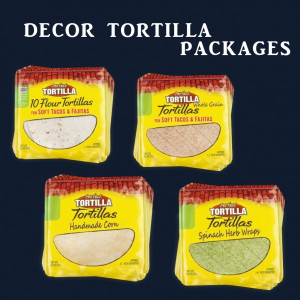 Leo 4 Sims: Tortilla Packages