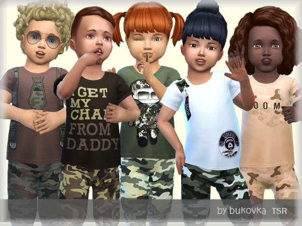 The Sims Resource: Shirt Army by bukovka