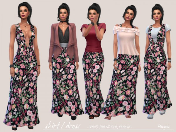The Sims Resource: Skirt Dress  by Paogae