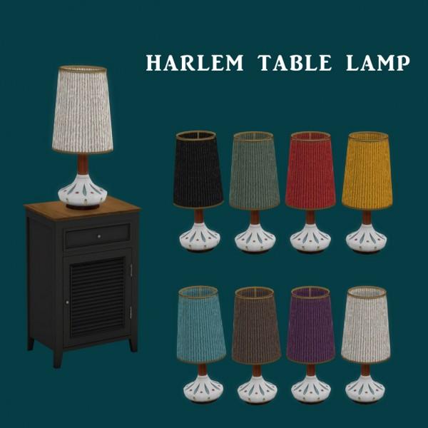 Leo 4 Sims: Harlem Lamp