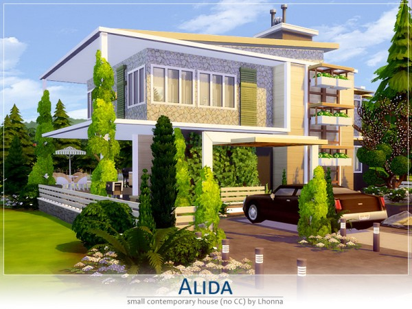 The Sims Resource: Alida House by Lhonna